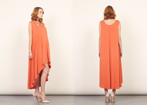 """The orange dress is divine! Such a beautiful collection."" - Pippa Vosper, Styylist and Editor, maternallychic.com"