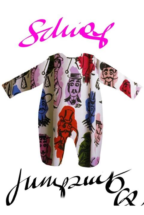 Christian Lacroix Bodysuit Design fit for a future King (Source: WWD)