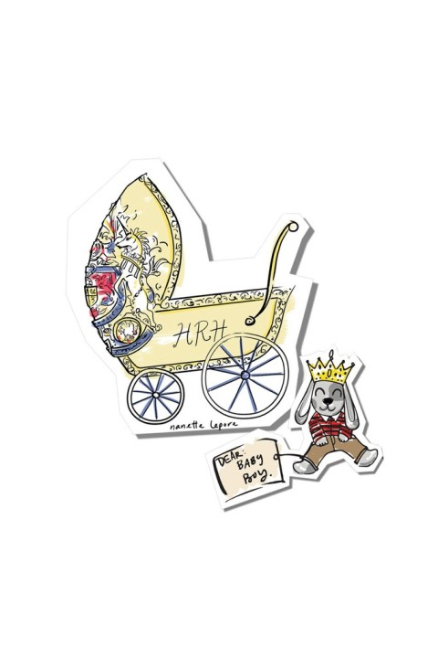 Nanette Lepore's regal pram for the Prince of Cambridge (Source: WWD)